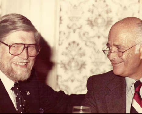 Norman Brooks and Norman Lear