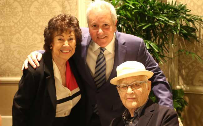 Fern Field, David Hoberman and Norman Lear