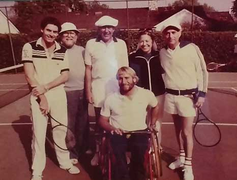 Norm Brooks, Carl Reiner, Fern Field and Norman Lear.